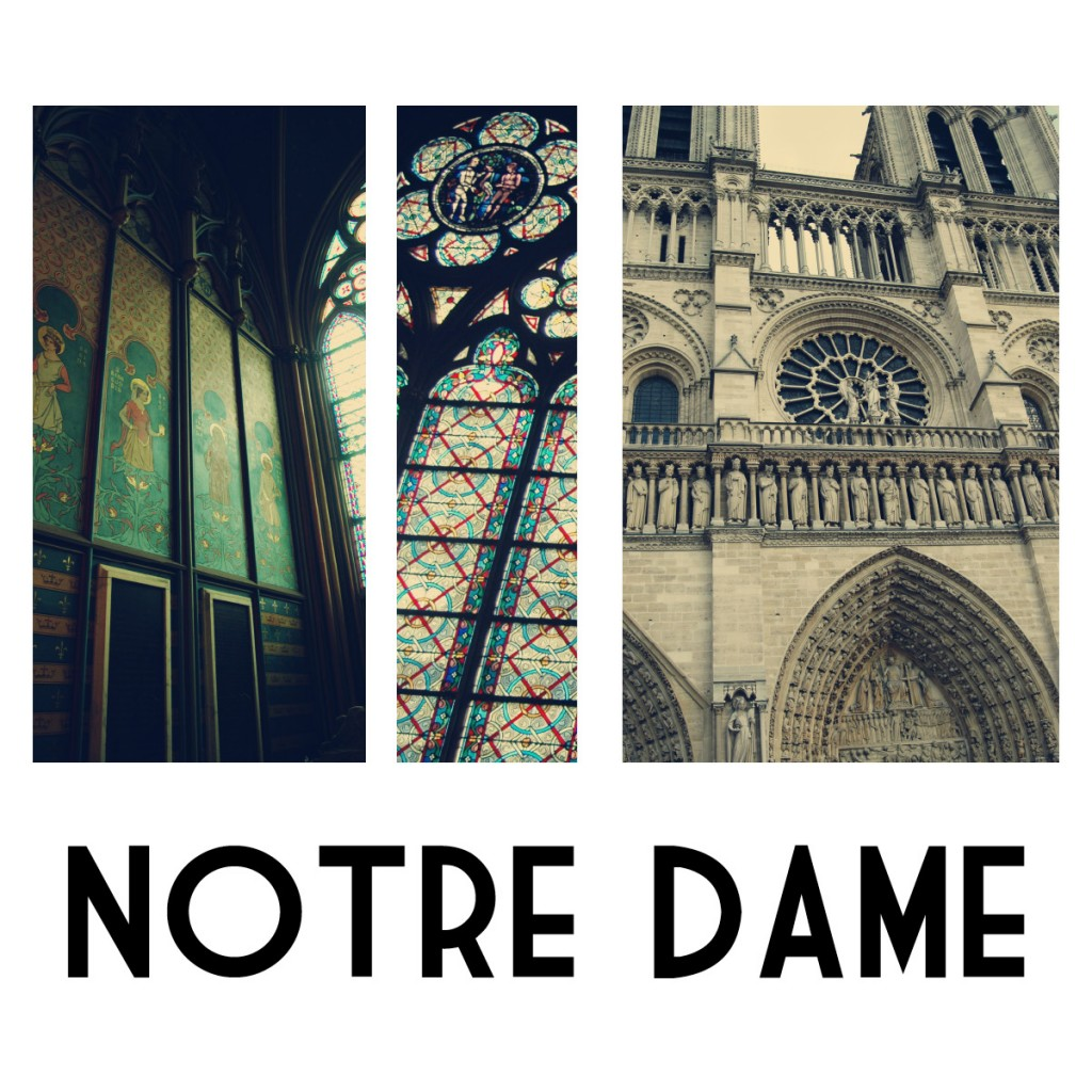 Paris – Exploring Notre Dame in Photographs