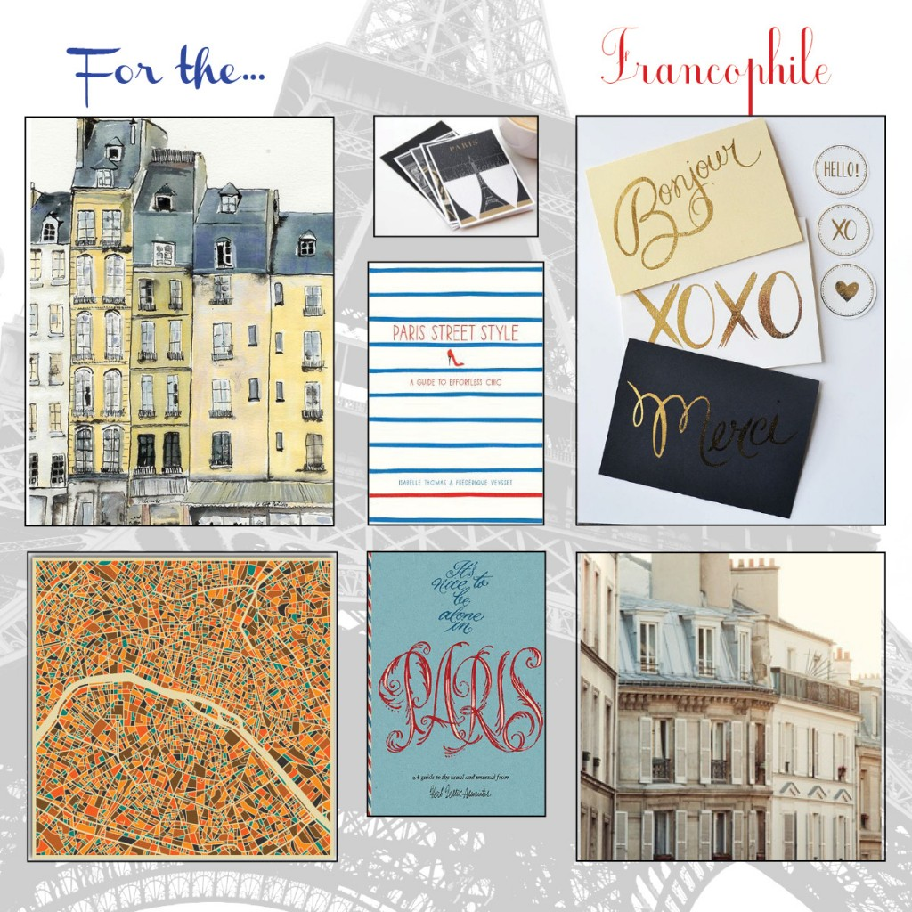 the Francophile Gift Guide: 7 Ideas for Anyone who Loves France