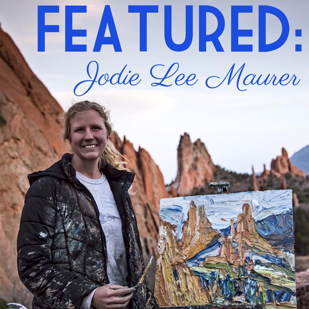 Jodie Lee Maurer, Painter