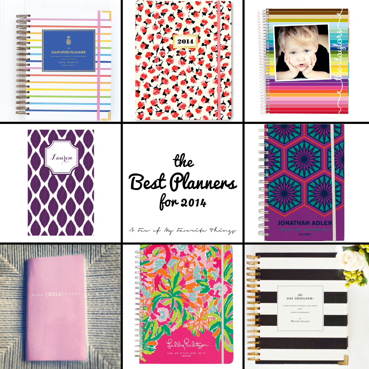 Best Planners for 2014