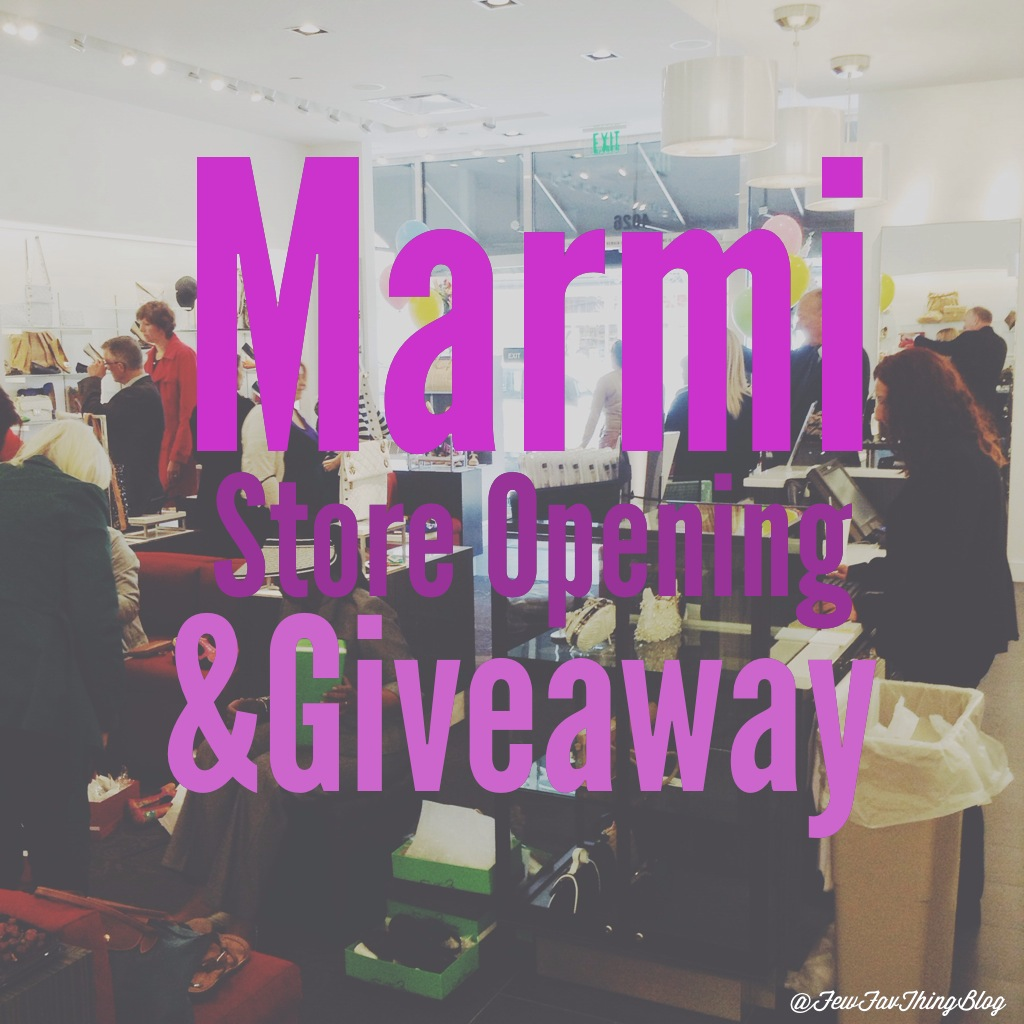 Marmi Store Opening at Easton Town Center on A Few of My Favorite Things