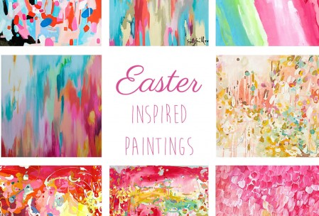 Easter Inspired Paintings