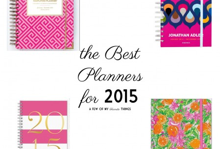 Best Planners for 2015 – Finding a Day Planner that Works for You