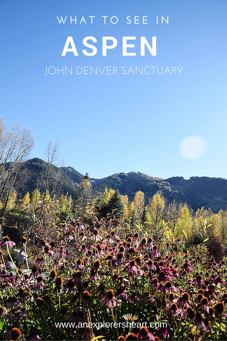 John Denver Sanctuary: Things to See in Aspen, Colorado. Click for full post on AnExplorersHeart.com