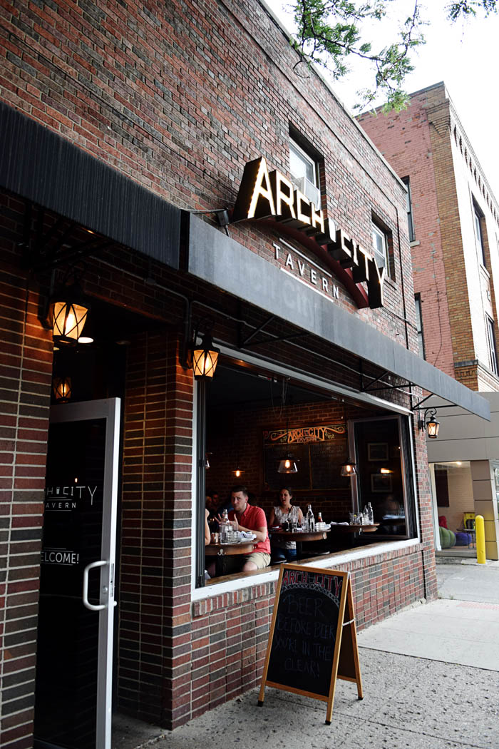 Arch City Tavern in Columbus, Ohio is a great choice when dining in the Short North. Click to read the full post on AnExplorersHeart.com