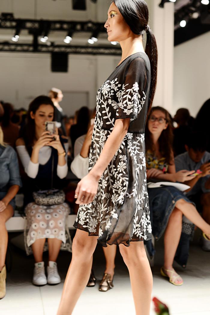 Dan Liu New York Fashion Week Spring 17
