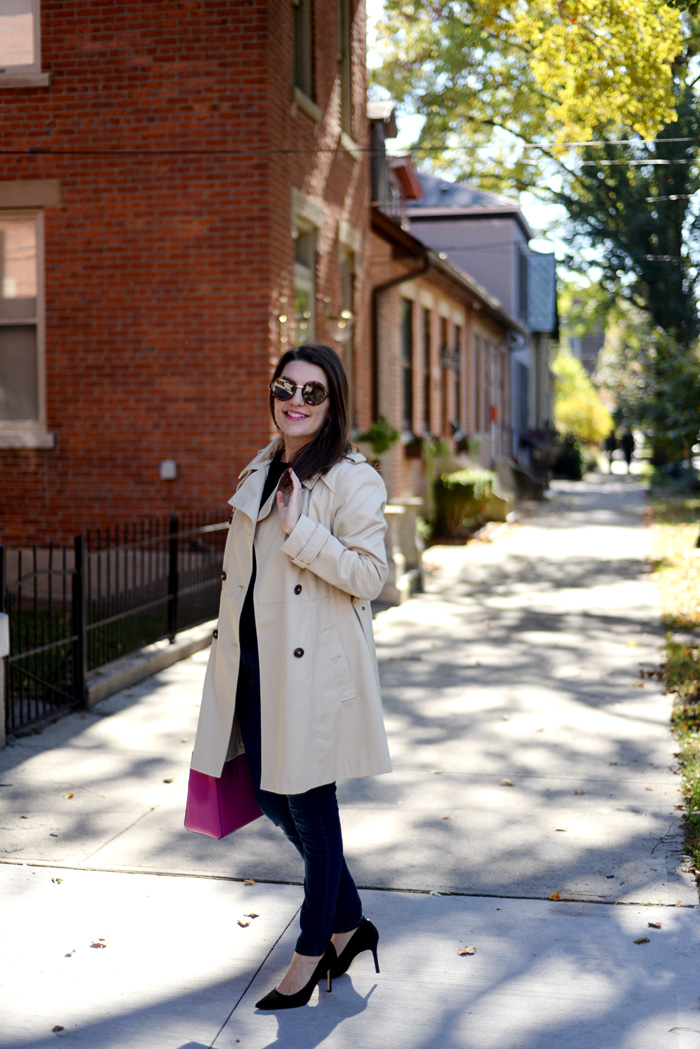 How to Wear a Trench Coat this Fall