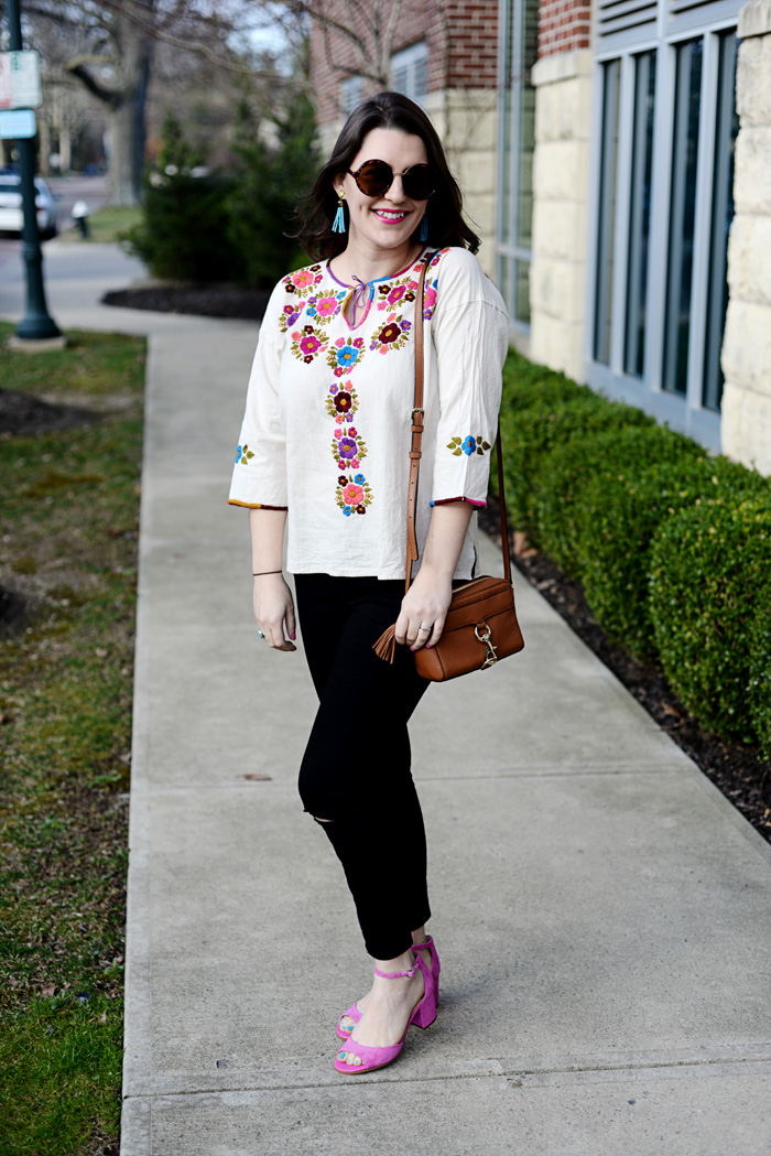 Spring Mexican Top on AnExplorersHeart.com