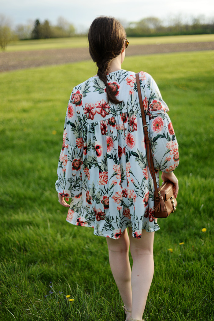 Missguided Floral Dress from ASOS on AnExplorersHeart.com