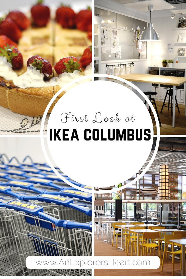 Ikea Columbus: Sneak Peek of the 44th Ikea on AnExplorersHeart.com