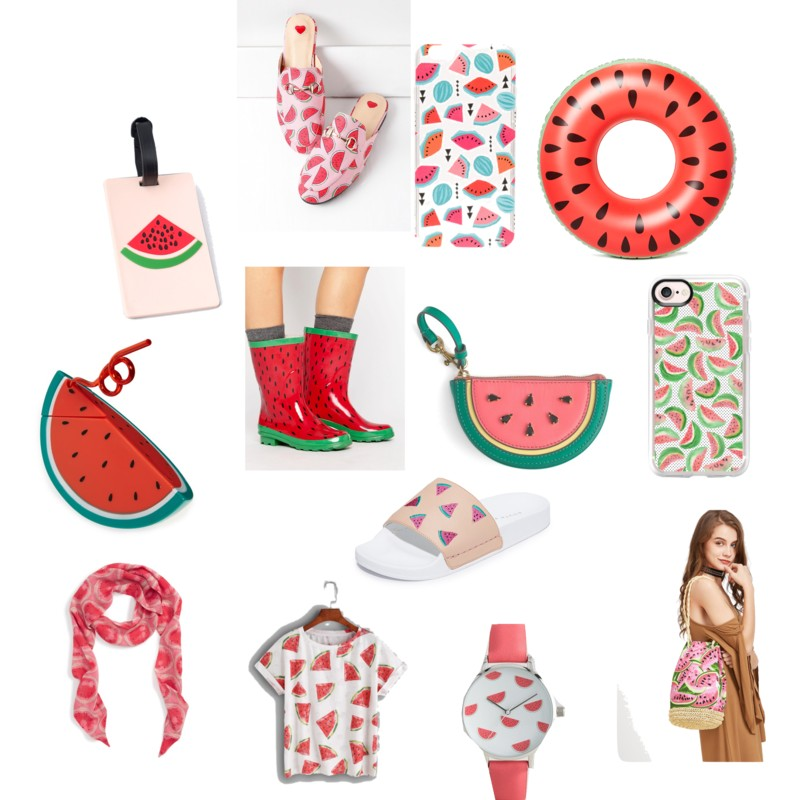 Trending this Summer Watermelon Print on AnExplorersHeart.com