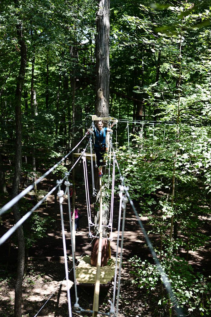 ZipZone Adventure Park in Columbus, Ohio on AnExplorersHeart.com
