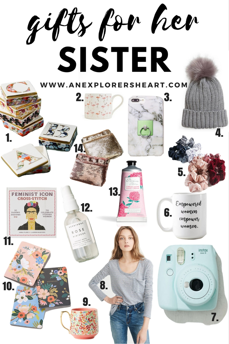 What to Buy Your Sister