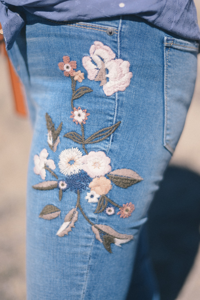 Abercrombie & Fitch Embroidered Jeans on AnExplorersHeart.com