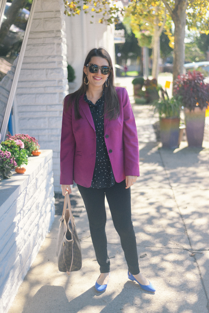 Talbots Wool Blazer on AnExplorersHeart.com